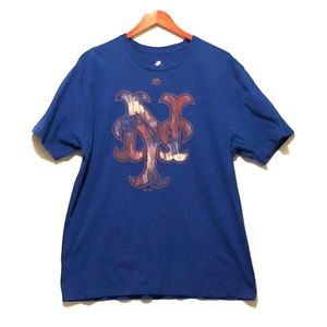 Majestic New York Mets Graphic Tee XL